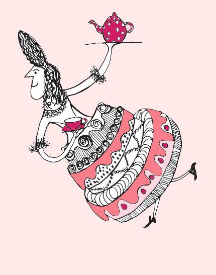 tortendame-coco-roze